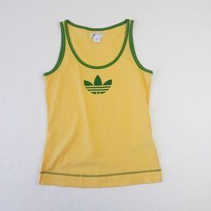 Vintage Adidas 'Brasil' Theme Tank Top